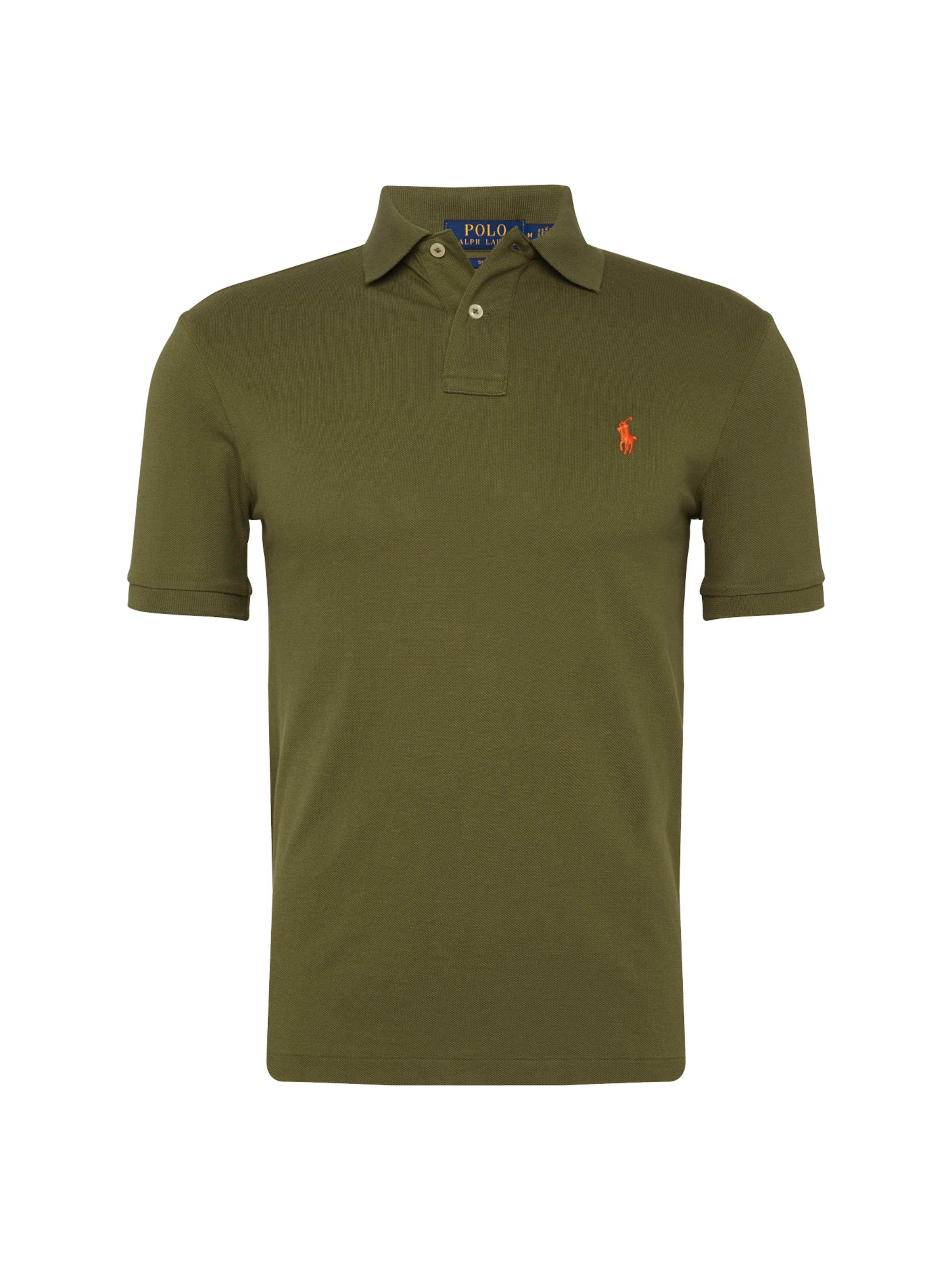 'sskcslm1 T Lauren knit' En shirt short Sleeve Olive Polo Ralph JcF3uTlK1