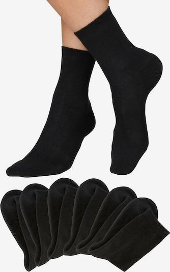 HIS JEANS Socken in schwarz, Produktansicht
