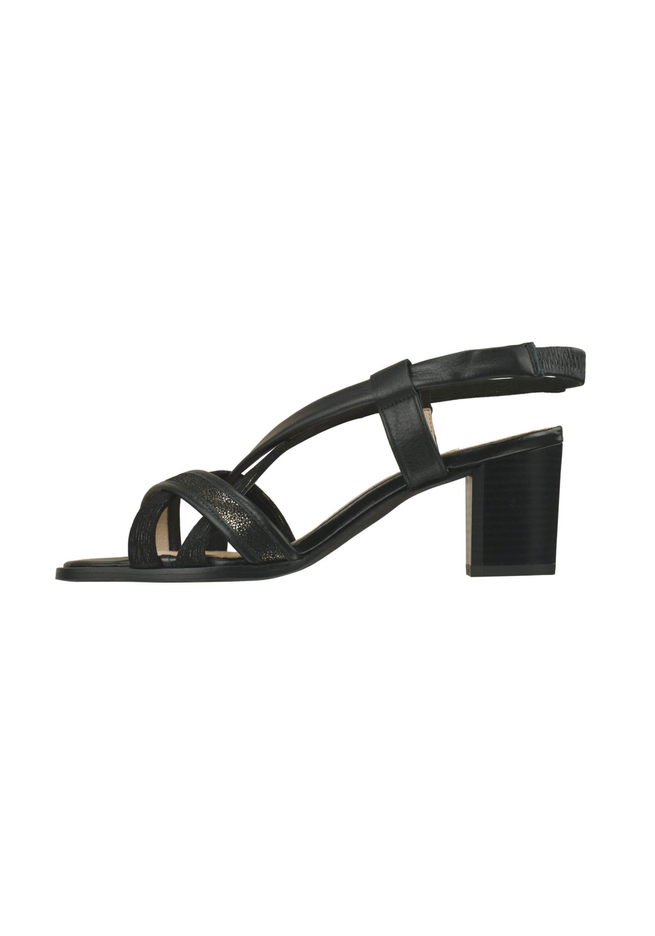 Schwarz Lei Sandalette In 'belinda' By Tessamino LSUqGpzMV