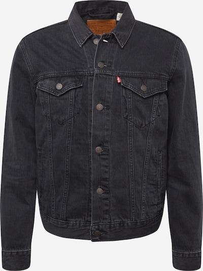 LEVI'S Přechodná bunda 'THE TRUCKER' - černá džínovina, Produkt
