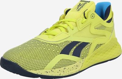REEBOK Chaussure de sport en bleu / citron, Vue avec produit