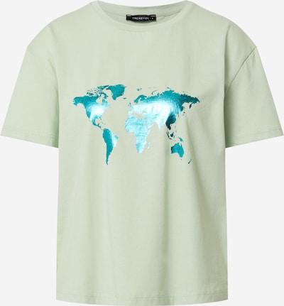 Trendyol Shirt in de kleur Hemelsblauw / Mintgroen, Productweergave