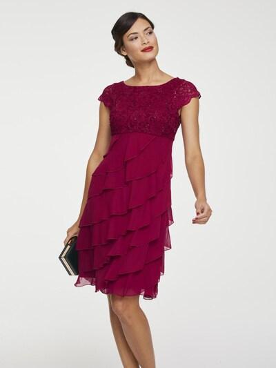 heine Koktejlové šaty - malinová, Model/ka