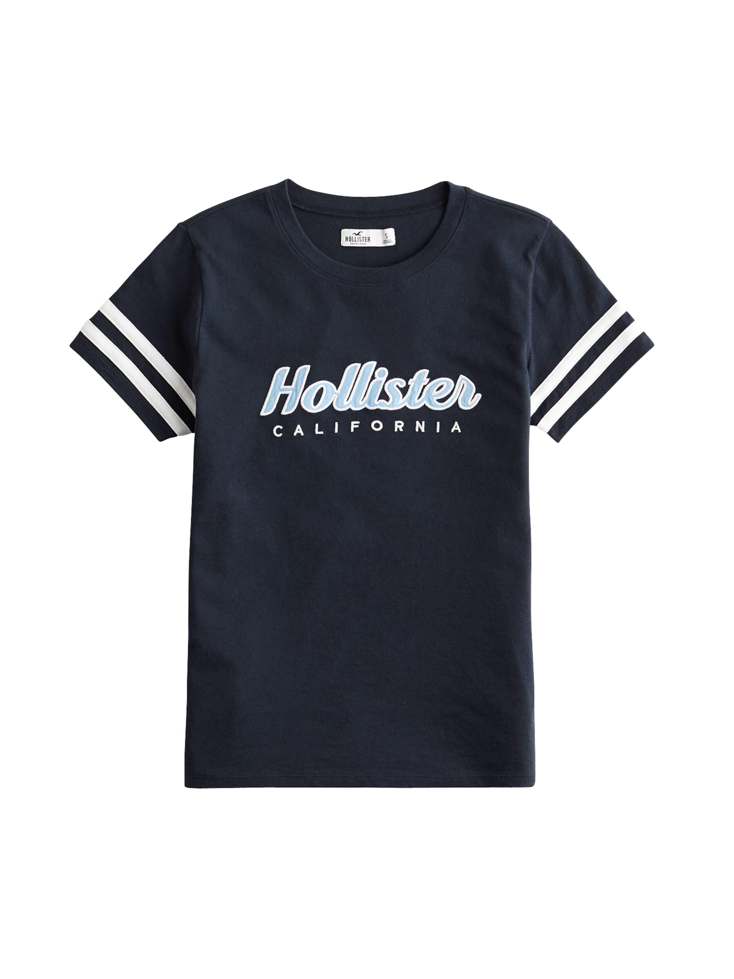 Hollister In Shirt In Shirt NavyWeiß Hollister m8ONnvw0