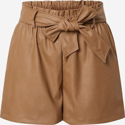 Pantaloni 'Gaby' Gina Tricot pe caramel: Privire frontală