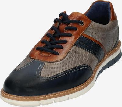 Pantofi cu șireturi bugatti pe culori mixte, Vizualizare produs