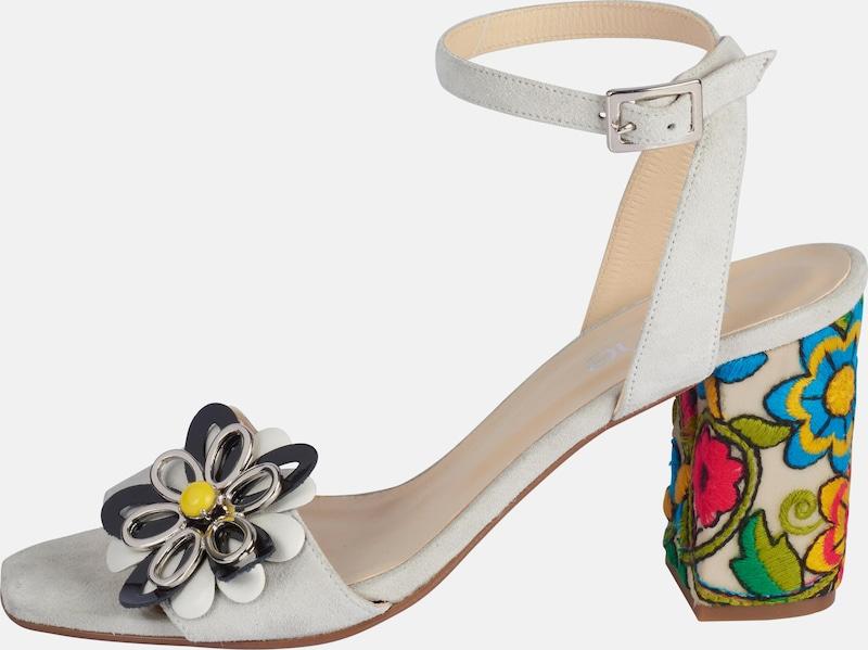 heine Sandalette mit Blütenapplikation