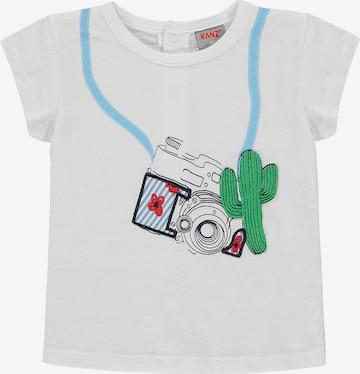 KANZ T-Shirt in Weiß