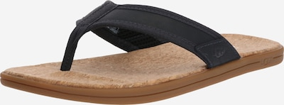 UGG Teenslippers 'SEASIDE FLIP' in de kleur Beige / Navy, Productweergave