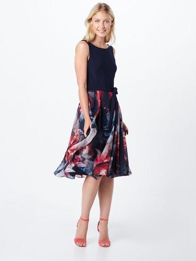 Vera Mont Sukienka koktajlowa w kolorze niebieski / czerwonym: Widok z przodu