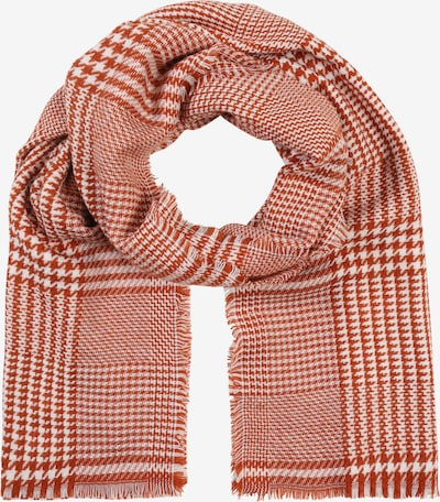PIECES Schal 'PCHARLIN LONG SCARF' in beige / rot, Produktansicht