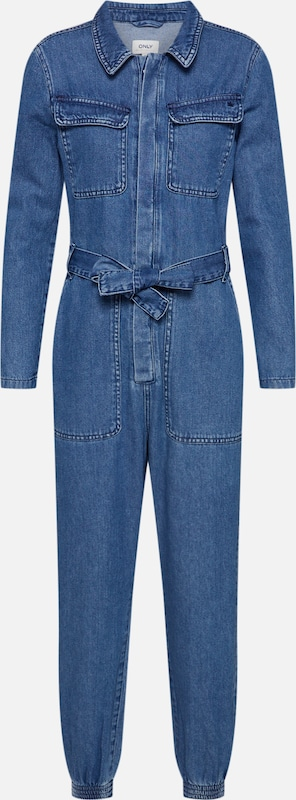 ONLY Jumpsuit 'SISSY BOILER' in blue denim, Produktansicht