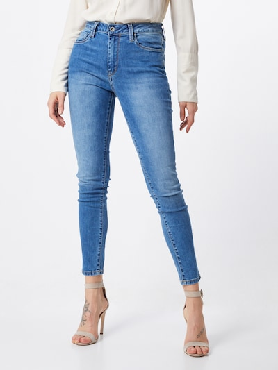 Pepe Jeans Jeans  'Regent' in blue denim, Modelansicht
