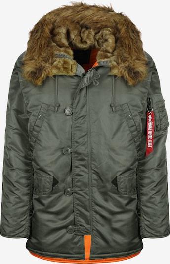 ALPHA INDUSTRIES Winterjacke ' N3B VF 59 ' in braun / grün, Produktansicht
