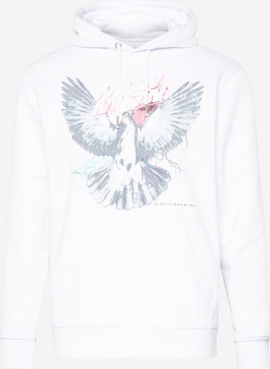 EINSTEIN & NEWTON Sweatshirt 'Nico Tin' in grau / schwarz / weiß, Produktansicht
