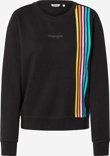 WRANGLER Sweatshirt in mischfarben / schwarz, Produktansicht