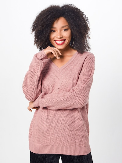ABOUT YOU Trui 'Emilia' in de kleur Rosa, Modelweergave