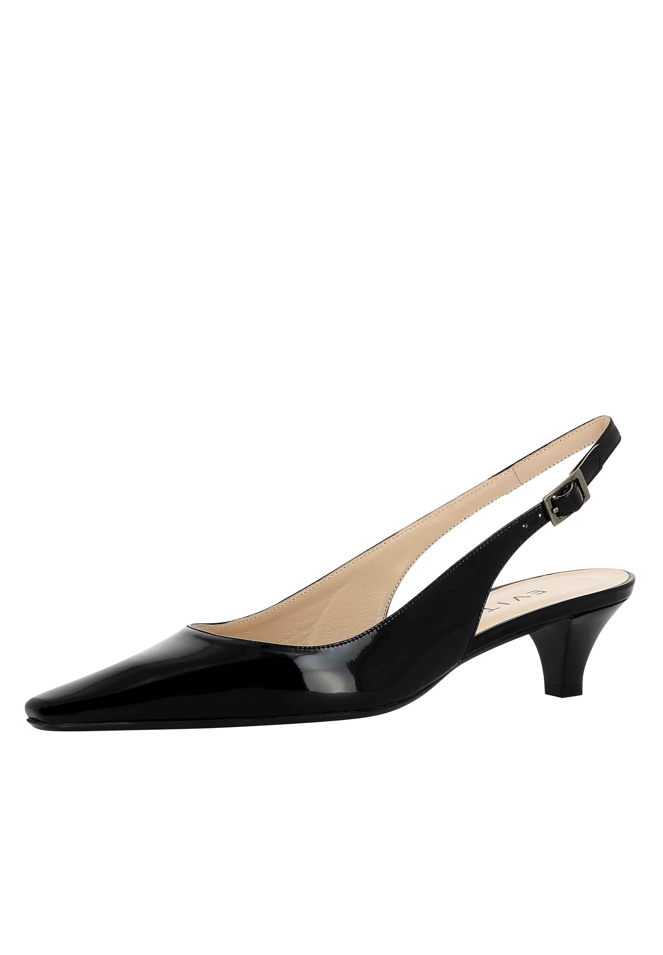 Damen In Sling Evita Schwarz Pumps b67yYfg