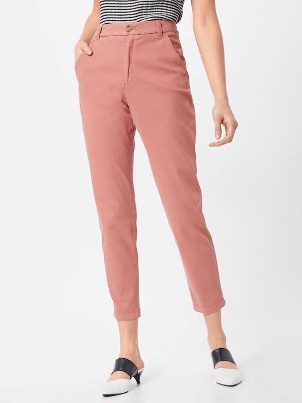 BOSS Pantalon chino 'Sachini 2-D' en rosé: Vue de face