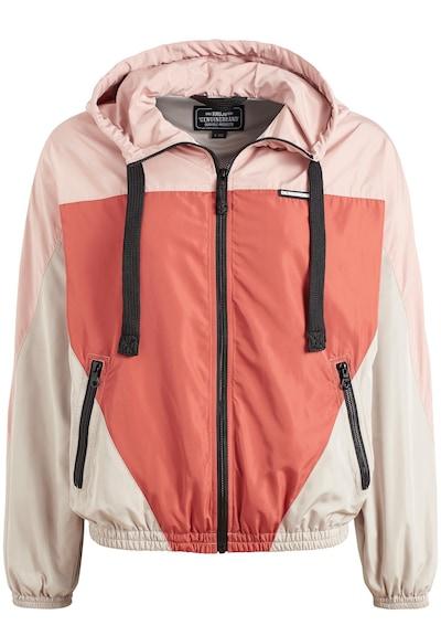 khujo Tussenjas ' THINN ' in de kleur Beige / Rosa / Rood, Productweergave