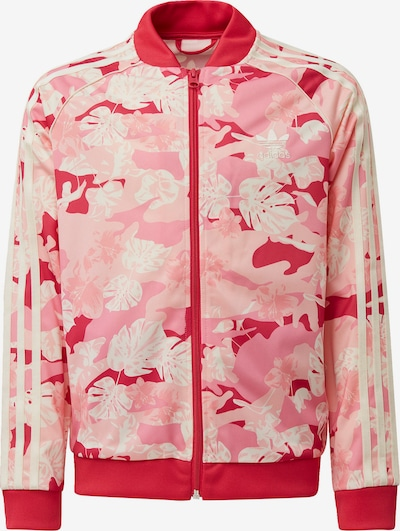 ADIDAS ORIGINALS Trainingsjacke in creme / rosa, Produktansicht