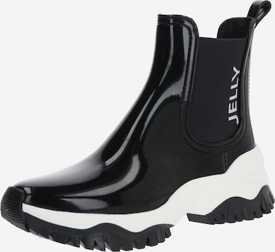 LEMON JELLY Regenlaarzen 'JAYDEN' in de kleur Zwart / Wit, Productweergave