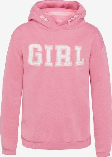 WE Fashion Sweatshirt ZAGRA in rosa: Frontalansicht