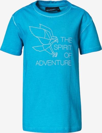 CMP T-Shirt in blau / weiß, Produktansicht