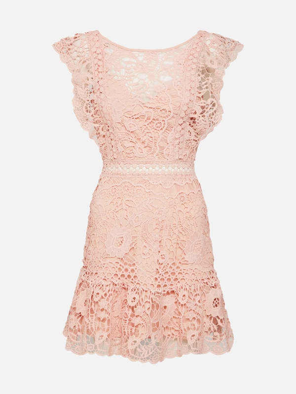 9858f1552a12f1 Love Triangle Sukienka koktajlowa 'SWEET CHARLOTTE' w kolorze stary różm |  ABOUT YOU