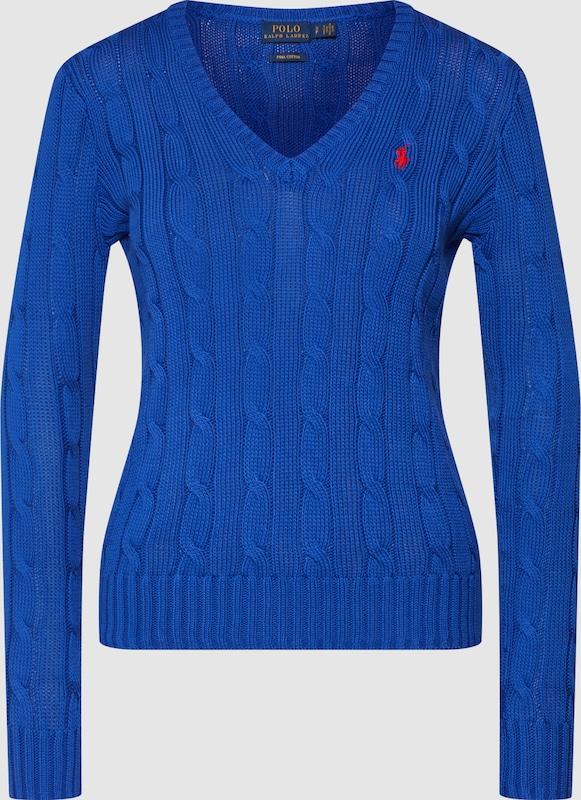 POLO RALPH LAUREN Pullover in blau  Freizeit, schlank, schlank