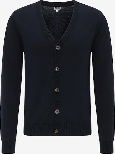 DREIMASTER Vestes en maille 'Maritim' en bleu, Vue avec produit