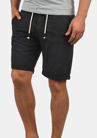 BLEND Shorts 'Lias' in schwarz: Frontalansicht