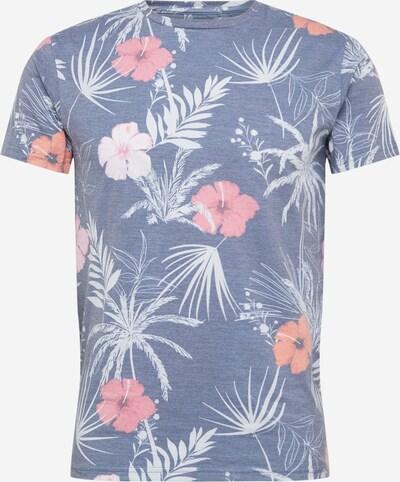 INDICODE JEANS T-Krekls 'Cadiz' pieejami zils / jauktu krāsu, Preces skats