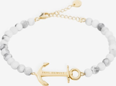 Paul Hewitt Armband in rauchblau / gold / weiß, Produktansicht