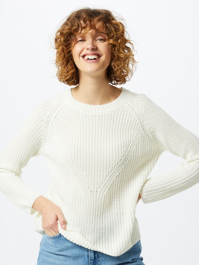JACQUELINE de YONG Pullover 'New Justy' in offwhite, Modelansicht