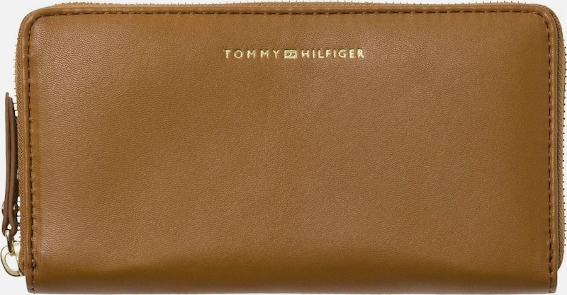 TOMMY HILFIGER Portemonnaie 'SMOOTH LEATHER LRG ZA WALLET'