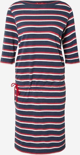 Derbe Kleid 'Harbor' in navy / rot / offwhite, Produktansicht
