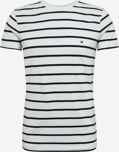 TOMMY HILFIGER Shirt in de kleur Donkerblauw / Wit, Productweergave