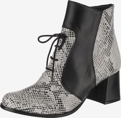 TIGGERS Stiefeletten 'Elin 06 am' in schwarz / weiß, Produktansicht
