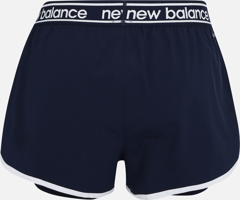 new balance Sport-Shorts 'RELENTLESS' in dunkelblau: Rückansicht