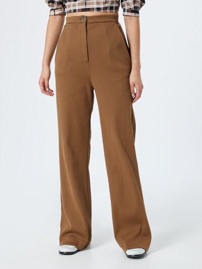 JAN 'N JUNE Kalhoty 'TONALA' - hnědá, Model/ka