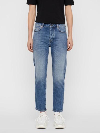 J.Lindeberg Study Reuse Jeans in blau, Modelansicht