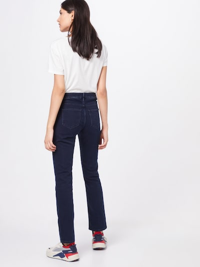 WRANGLER Džinsi 'STRAIGHT' pieejami zils džinss: Aizmugures skats