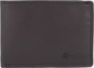 Esquire Geldbörse 'Duo' in dunkelbraun, Produktansicht