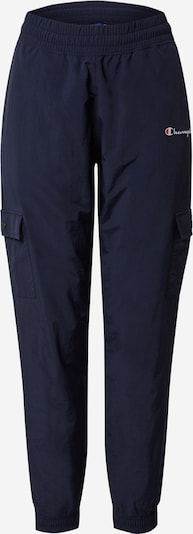 Champion Authentic Athletic Apparel Pantalon cargo en bleu marine, Vue avec produit