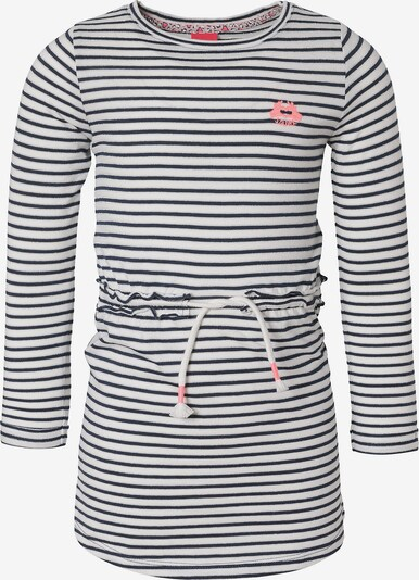 s.Oliver Junior Kleid in dunkelblau / weiß, Produktansicht