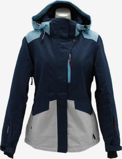 ICEPEAK Jacke 'Katlyn' in hellblau / dunkelblau / grau, Produktansicht