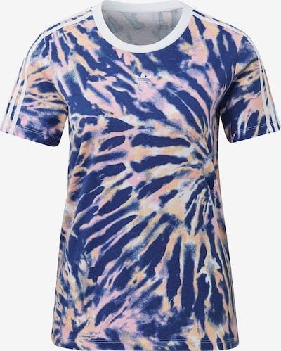 ADIDAS ORIGINALS T-Shirt in indigo / pink / weiß, Produktansicht