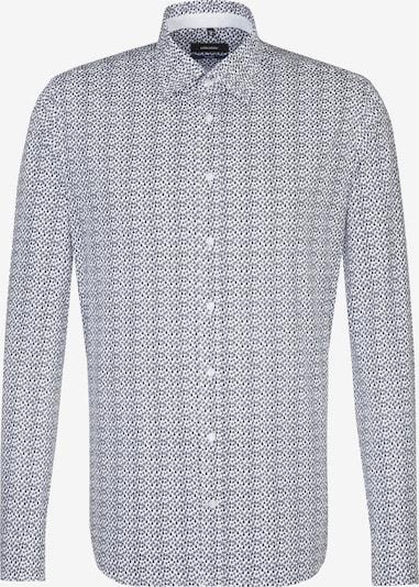 SEIDENSTICKER Hemd 'Tailored' in nachtblau: Frontalansicht