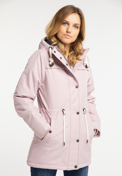 DREIMASTER Winterjacke in rosa: Frontalansicht
